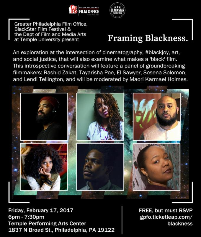 Framing Blackness – Greater Philadelphia Film Office